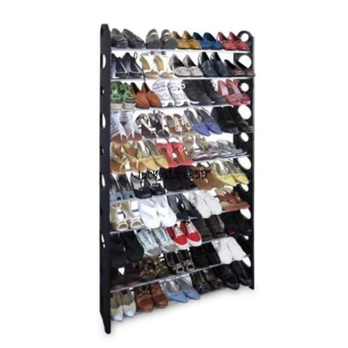 New Shoe Rack for 50 Pair Wall Bench Shelf Closet Organizer Storage Box Stand by lekieshop (Jordan Shoe Storage Box compare prices)