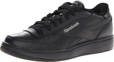 Reebok Men's Ace Fashion Sneaker,Black/Pure Silver/Rivet Grey/Royal,6.5 M US