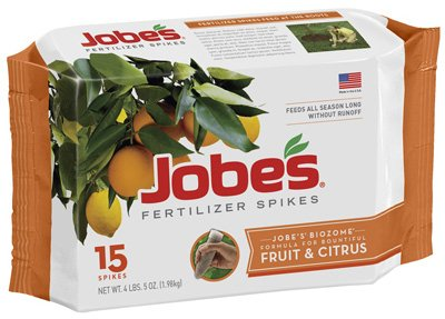 jobes-01612-fertilizer-spikes-for-fruit-and-citrus-trees-9-12-12-15-pack