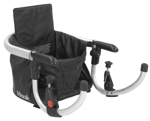 Joovy Hook On Highchair, Black Leatherette - 1