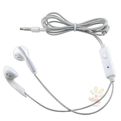 Everydaysource White Universal 3.5mm Stereo Headset w On-off