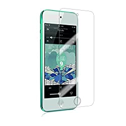 MoArmouz Go - Tempered Glass For iPod Touch 5th Gen - 9H Hardness Screen Guard / Ultra Clear Tempered Glass Screen Protector for iPod Touch 5 / Screen Protectors HD Clear Tempered Glass Screen Protector