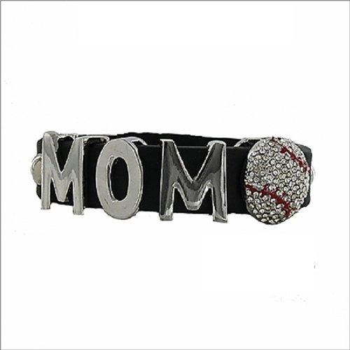 JOA Mom Sign W Baseball Rubber Band Bracelet #040795