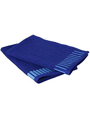 Tangerine Indigo Bay Cotton Bath Towel at Rs 559 only at Amazon