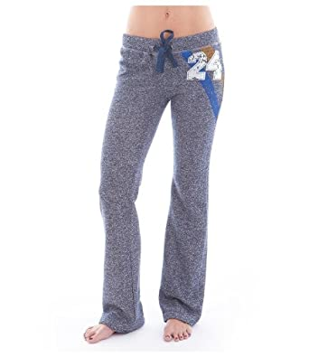 G2 Fashion Square Women's Elastic Waistband Stretchy Knit Active Sweatpants(ACT-PNT,DBL-M)