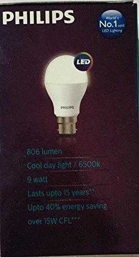 Ace-Saver-9W-806-L-B22-LED-Bulb-(Crystal-White,-Pack-of-2)