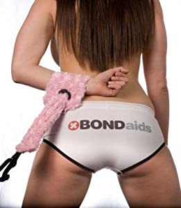 Bondaids Double Cuff Restraint Black