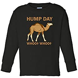 HUMP DAY whoo whoo Toddler Long Sleeve T-Shirt