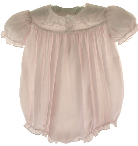 Infant Girls Pink Dressy Bubble Outfit 6M front-963824