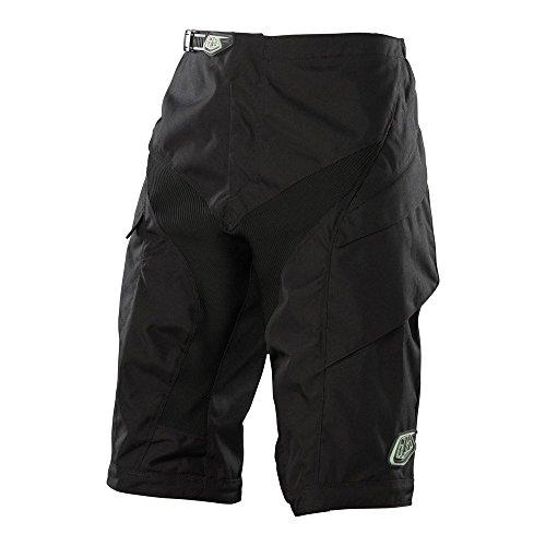 Troy Lee Designs, Pantaloni corti da ciclismo Uomo, Nero (Schwarz), S