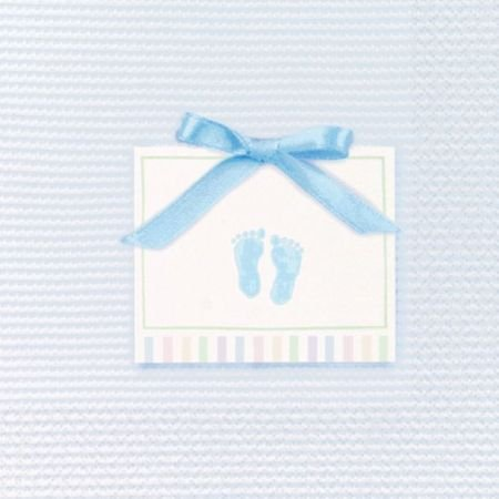 Baby Soft Blue Lunch Napkins, 16ct