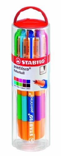 stabilo-1099-10-01-pointvisco-penna-roller-gel-10-colori-assortiti