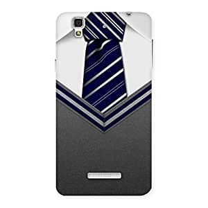Gorgeous Decent Student Grey Back Case Cover for Yu Yureka