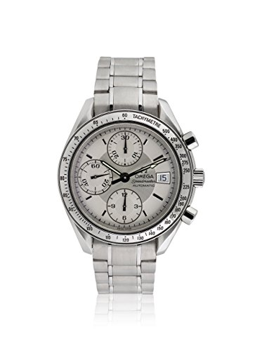 Omega Men's Pre-Owned Speedmaster Silver/Stainless Steel Watch