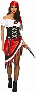 Franco Sexy Pirate Vixen Buccaneer Wench Halloween Costume by Goddessey LLC