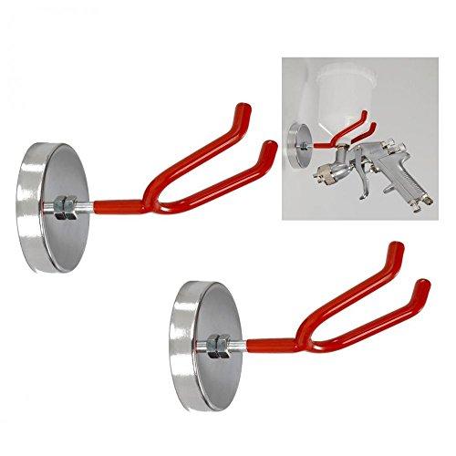 2-Alimentation-par-gravit-HVLP-Pistolet-vaporisateur-Support-magntique-crochetsupport-en-acier-aimant-en-mtal