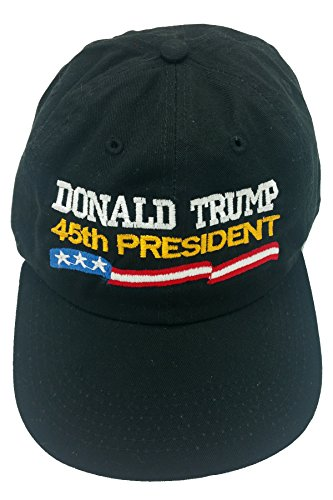 5d11295674815 Two Hats Donald Trump 45th President Make America Great Again- Red ...