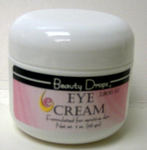 Beauty Drops Eye Cream, Formulated for Sensitive Skin, 2800 IU, 2 oz.