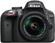 Comprar Nikon D3300 + 18-55 AFP VR - Cámara réflex digital de 24,2 Mp (pantalla LCD 3