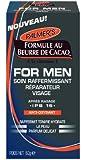 Palmer's Formule au Beurre de Cacao FOR MEN Soin Visage Hydratant Raffermissant Apaisant 60 g - Lot de 2