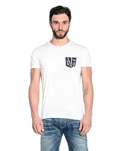 Armani Jeans T-Shirt Manica Corta A6H09-Ms 10 [Bianco]