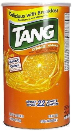 Tang Tang Orange Powdered Drink Mix, 22 Qt (Quantity Of 3)