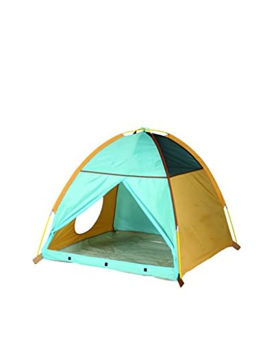 Pacific Play Tents My Little Tent, Tan/Brown/Blue