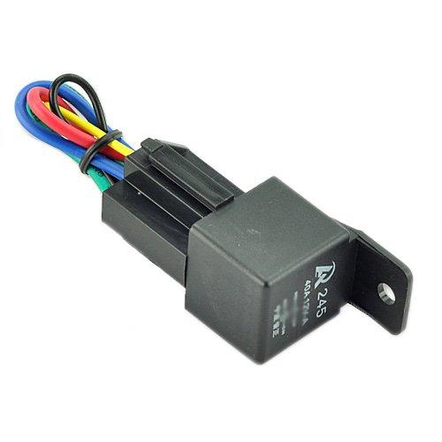 Car Auto Truck Relay & Socket Spdt 12V 12 Volt Dc 40A Amp 5Pin
