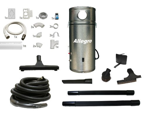 RV Trailer Boat Yacht Allegro Central Vacuum Unit & Utility Garage Car Kit & 1 Inlet Installation Kit (Motorhome Vacuum compare prices)