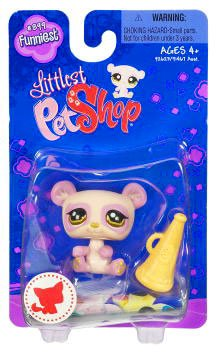Picture of Hasbro Littlest Pet Shop Funniest Single Figure Panda with Megaphone (B002AXDLBU) (Hasbro Action Figures)