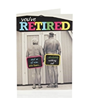 Bright Photographic Retirement Card