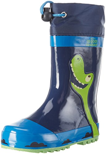 Arlo & SpotBoys Kids Rainboots Boots - Stivali a metà polpaccio non imbottiti Bambino , Blu (Blau (Cbl/NAV/NAV 001)), 28