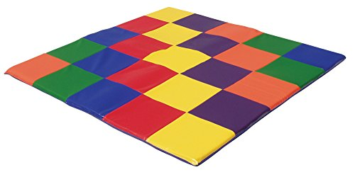"""Ecr4Kids 60"""" Square Utra Soft Toddler Mat - Multi-Color - Children Floor Mat - Nursery Room - High-Quality Made For Tender Little Hands And Feet - Soft And Comfortable - Non-Toxic And Anti-Bacterial Surface front-942666"""