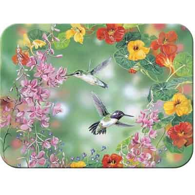 "Tuftop Hummingbirds Cutting Board Size: Small (9""X12"")"