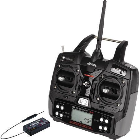 Optic6 Sport 2.4GHz Tx Micro/Optima6 Rx/2 HS-55 Sx