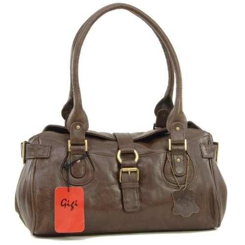 Gigi Top Handle Bag - Othello - Brown