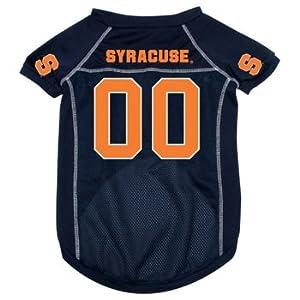 Syracuse Orangemen NCAA dog pet Jersey Blue mesh MED 11-19lbs by Hunter