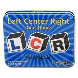 LCR, izquierda centro derecha juego de los dados, el original