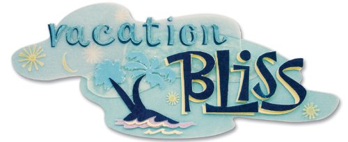 Jolee's Boutique A Day At The Beach Title Wave Stickers-Vacation Bliss