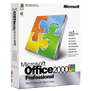 Microsoft Office 2000 Professional - Academic Price