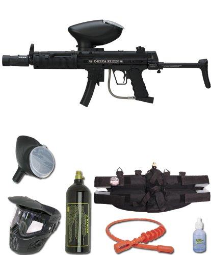 Empire Bt Delta Elite E-Grip Paintball Marker Gun 3Skull 4+1 Bc Mega Set