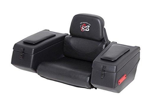 WES Industries AR-36 Rear Cargo Box Seat with Padded Arm Rests for Single Seat ATV 123-0015 (Wes Industries Atv Seat compare prices)
