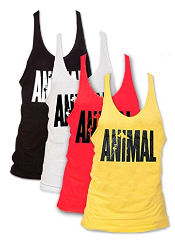 Pack-of-2-Mens-Animal-Letter-Print-Muscle-Gym-Stringer-Tank-Top-for-Bodybuilding