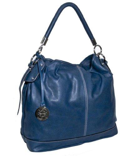 60e5ba121f women handbag  Nicolas Felizola Classic Hobo Handbag Blue
