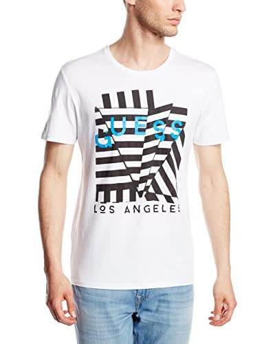 Guess T-Shirt weiß L