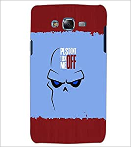 PrintDhaba Quote D-2621 Back Case Cover for SAMSUNG GALAXY ON 7 (Multi-Coloured)