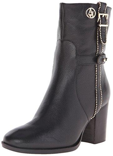 Women's Beaded Leather Boot, Black, 36 EU/6 M US