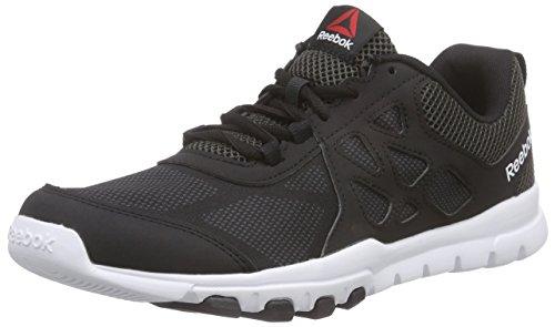 Reebok Sublite Train 4.0 Zapatillas de deporte, Hombre, Negro / Gris / Blanco, 41