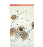 Bear & Bird Mirrored Notebook