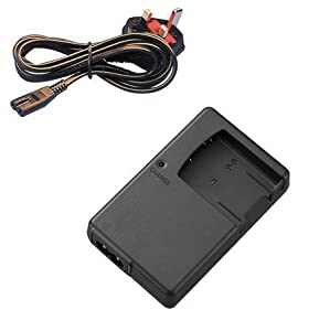 Mains Battery Charger for Nikon COOLPIX S6000, S6100, S6150, S6200, S6300, S8000, S8100, S8200, S9050, S9100, S9200, S9300, S9400, S9500, S9600, S9700 Digital Camera - Replacement for Nikon Charger MH-65 for EN-EL12 Battery - AAA Products®